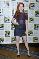 MADELAINE PETSCH at Riverdale Panel at Comic-con in San Diego 07/21/2018