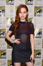 MADELAINE PETSCH at Riverdale Press Line at Comic-con in San Diego 07/21/2018