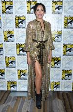 MADELEINE MANTOCK at Charmed Photocall at Comic-con in San Diego 07/19/2018