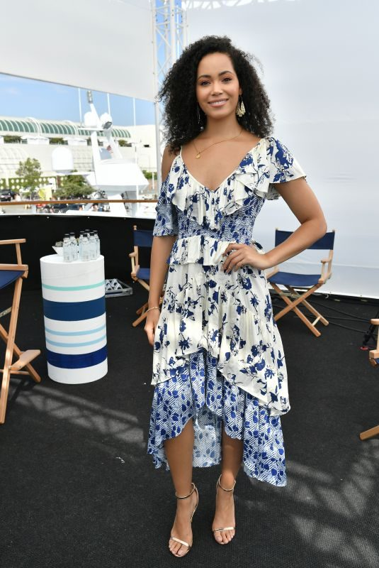 MADELEINE MANTOCK at Variety Studios at Comic-con 2018 in San Diego 07/20/2018