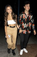 MADISON BEER and Zack Bia Leaves Delilah in West Hollywood 07/11/2018
