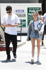 MADISON BEER and Zack Bia Out for Lunch in Beverly Hills 07/19/2018