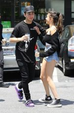 MADISON BEER and Zack Bia Out in Los Angeles 06/30/2018