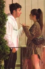 MADISON BEER and Zack Bia Throes of a Heated Argument Out in Los Angeles 07/09/2018