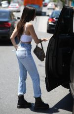 MADISON BEER in Jeans Out in Los Angeles 07/24/2018