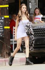 MADISON BEER Out for Lunch in West Hollywood 07/18/2018
