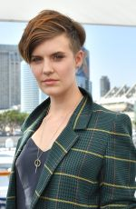 MAGGIE GRACE at Variety Studio at Comic-con in San Diego 07/19/2018