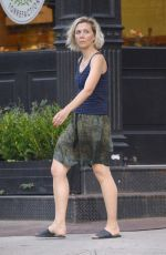 MAGGIE GYLLENHAAL Out and About in New York 07/20/2018