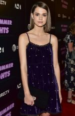 MAIA MITCHELL at Hot Summer Nights Screening at Pacific Theatres in Los Angeles 07/11/2018