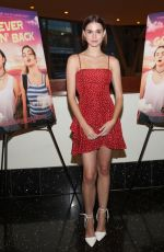 MAIA MITCHELL at Never Goin' Back Screening in Hollywood 07/25/2018