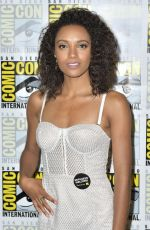 MAISIE RICHARDSON-SELLERS at Legends of Tomorrow Photocall at Comic-con in San Diego 07/21/2018