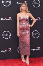 MALLORY EDENS at 2018 Espy Awards in Los Angeles 07/18/2018