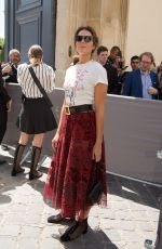 MANDY MOORE at Dior Fall/Winter 2018/2019 Haute Couture Show in Paris 07/02/2018