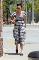 MANDY MOORE Leaves a Spa in Los Angeles 07/15/2018
