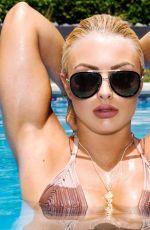 MANDY ROSE in Bikini on the Set of a Photoshoot, 2018
