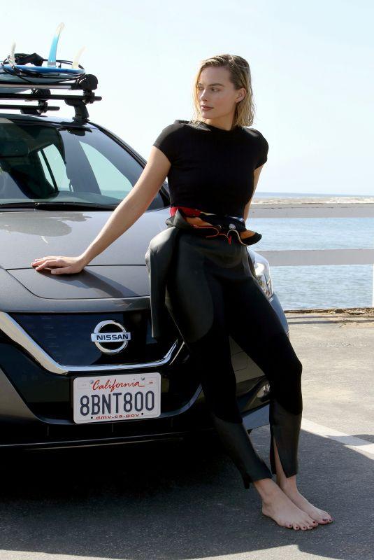 MARGOT ROBBIE for Nissan EV 2018