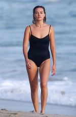 MARGOT ROBBIE in Swimsuit on the Beach in Costa Rica 07/18/2018