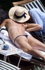 MARIA SHARAPOVA in Bikini at a Pool in Positano 07/22/2018