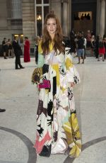 MARINA RUY BARBOSA at Valentino Show at 2018 Haute Couture Fashion Week in Paris 07/04/2018