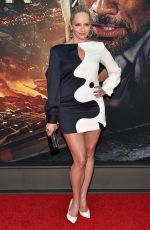 MARLEY FLYNN at Skyscraper Premiere in New York 07/10/2018