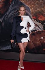 MARLEY SHELTON at Skyscraper Premiere in New York 07/10/2018