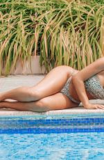 MARNIE SIMPSON in Bikini at a Pool in Naples 07/18/2018