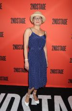 MARTHA PLIMPTON at Mary Page Marlowe Off-Broadway Opening Night in New York 07/12/2018