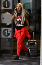 MAYA JAMA Leaves BBC Studios in London 07/21/2018