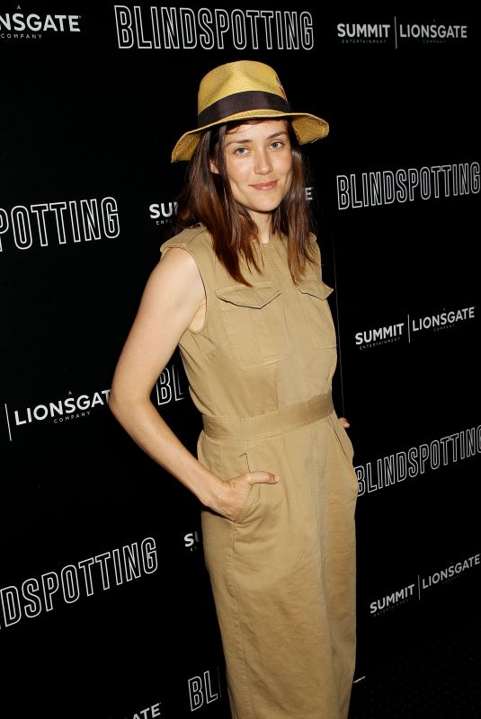 MEGAN BOONE at Lionsgate Hosts Blindspotting Screening in New York 07/16/2018