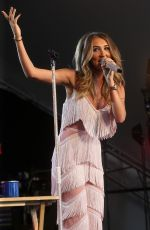 MEGAN MCKENNA at Country Music Festival in Chipping Norton 07/14/2018