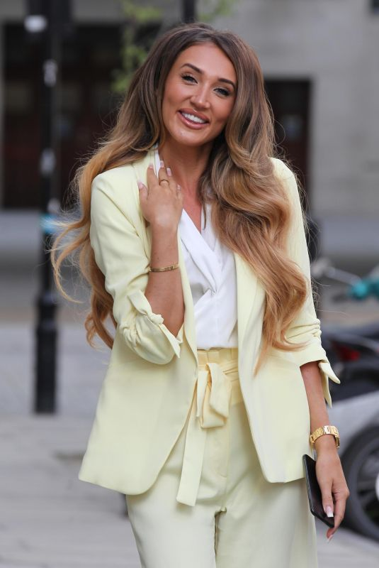 MEGAN MCKENNA Out and About in London 07/04/2018