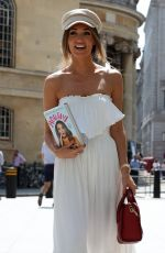 MEGAN MCKENNA Out and About in London 07/27/201