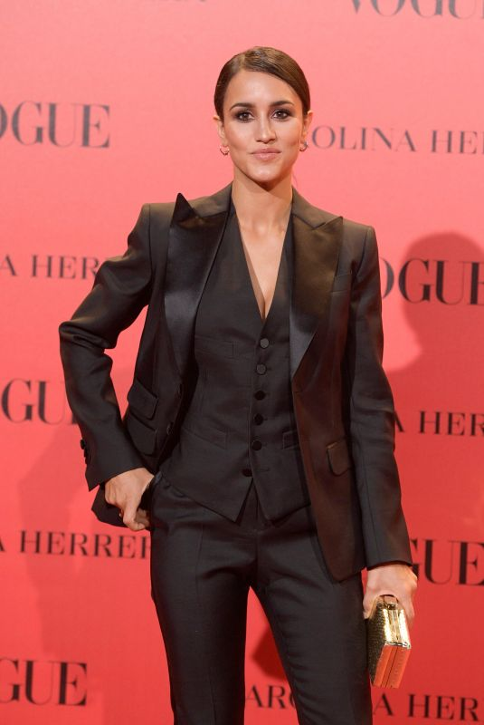 MEGAN MONTANER at Vogue Spain 30th Anniversary Party in Madrid 07/12/2018