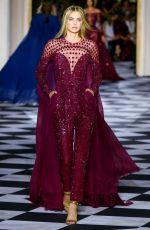 MEGAN WILLIAMS at Zuhair Murad Fashion Show in Paris 07/04/2018