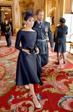 MEGHAN MARKLE and KATE MIDDLETON at a Service Marking Centenary of Royal Air Force in London 07/10/2018