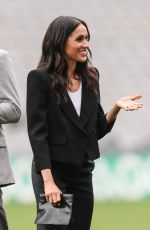 MEGHAN MARKLE and Prince Harry at Croke Park in Dublin 07/11/2018