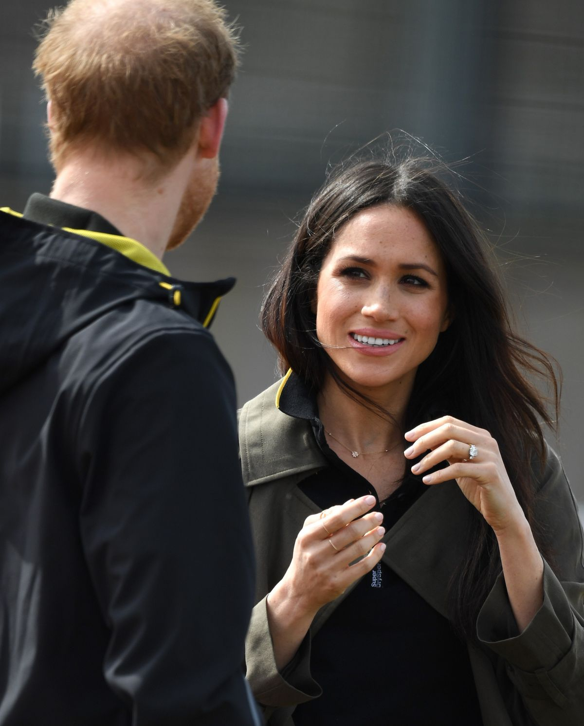 MEGHAN MARKLE And Prince Harry At UK Team Trials For