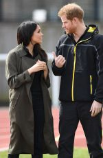 MEGHAN MARKLE and Prince Harry at UK Team Trials for Invictus Games Sydney in Bath 07/06/2018