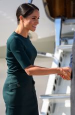 MEGHAN MARKLE and Prince Harry on Emerald Isle 07/10/2018