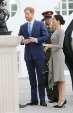 MEGHAN MARKLE Arrives at Meeting with Irish President in Dublin 07/11/2018