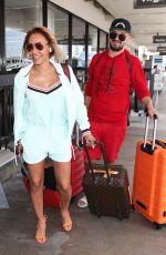 MELANIE BROWN at LAX Airport in Los Angeles 07/19/2018