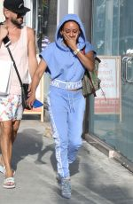 MELANIE BROWN Shopping on Melrose Avenue in West Hollywood 07/10/2018
