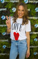 MELANIE CHISHOLM at Barclaycard VIP Experience Watching World Cup Semi Final in London 07/11/2018