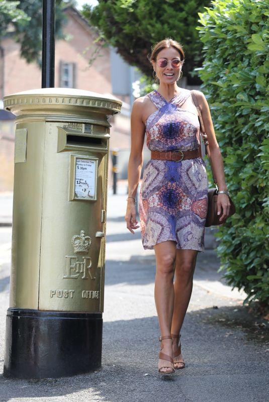 MELANIE SYKES Arrives at Wimbledon in London 07/07/2018