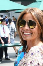 MELANIE SYKES at Wimbledon in London 07/04/2018