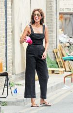 MELANIE SYKES on the Set of a Photoshoot in London 07/19/2018