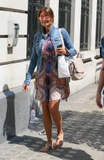 MELANIE SYKES Out and About in London 07/07/2018