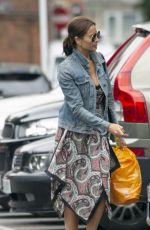 MELANIE SYKES Out at Sainsbury