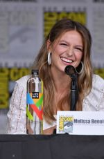 MELISSA BENOIST at Supergirl Panel at Comic-con in San Diego 07/21/2018