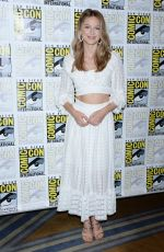 MELISSA BENOIST at Supergirl Press Line at Comic-con in San Diego 07/21/2018